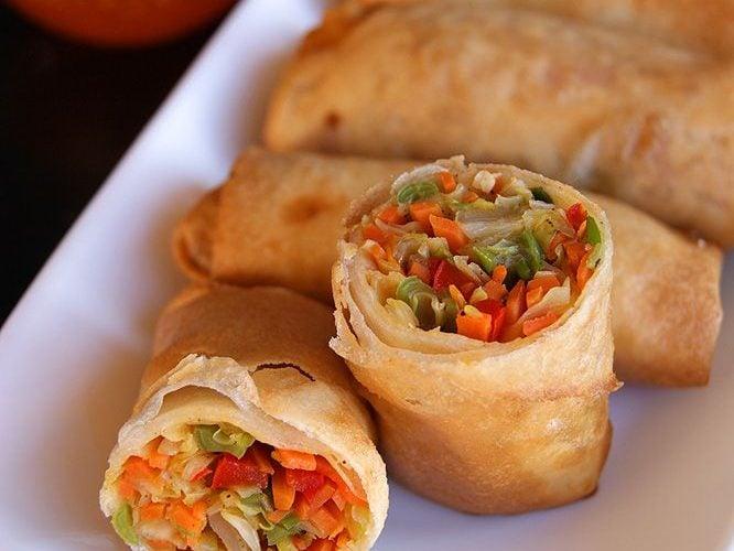 Sebze Sevenler İçin, Çin Böreği (Spring Rolls) Tarifi