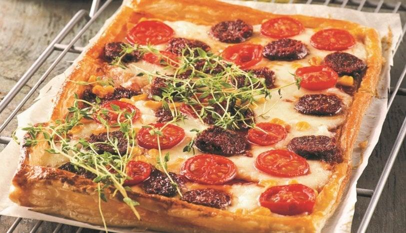 Pratik Sevenlere, Milföy Pizza Tarifi