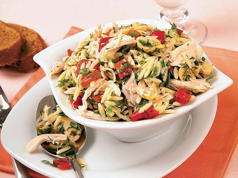 Her Öğün, Şehriyeli Tavuk Salatası Tarifi