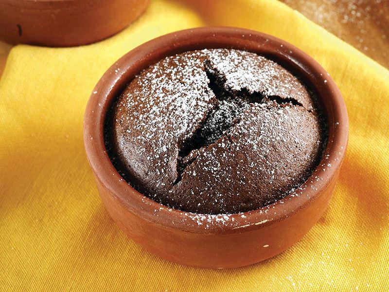 Sıcacık Çikolata Şelalesi, Çikolatalı Sufle Tarifi