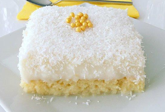 Taze Görünümü İle, Gelin Pastası Tarifi