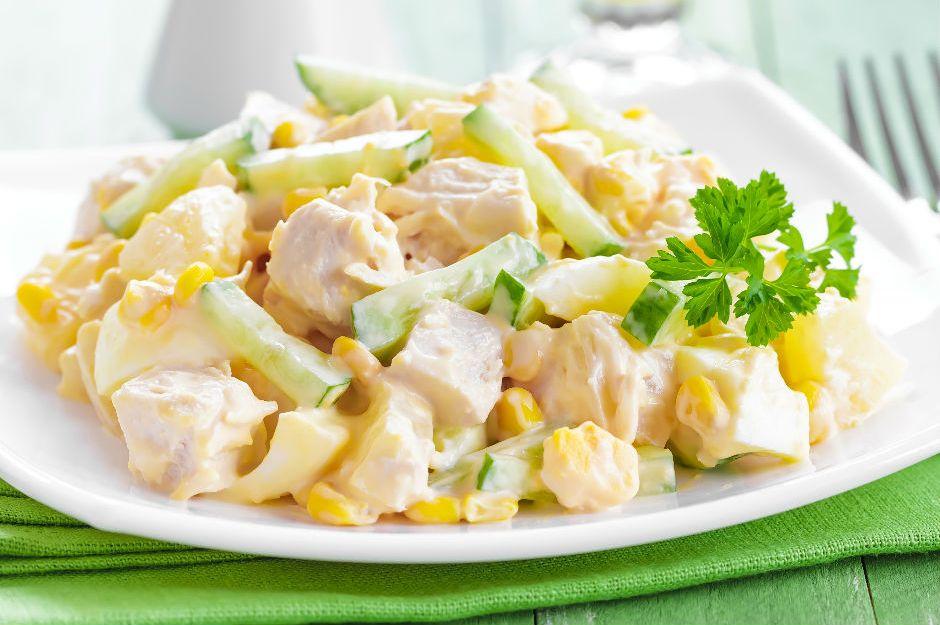 Zamansız ve Harikulade, Mayonezli Tavuk Salatası Tarifi