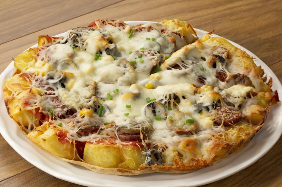 İki Tarif Bir Arada, Kumpir Pizza Tarifi