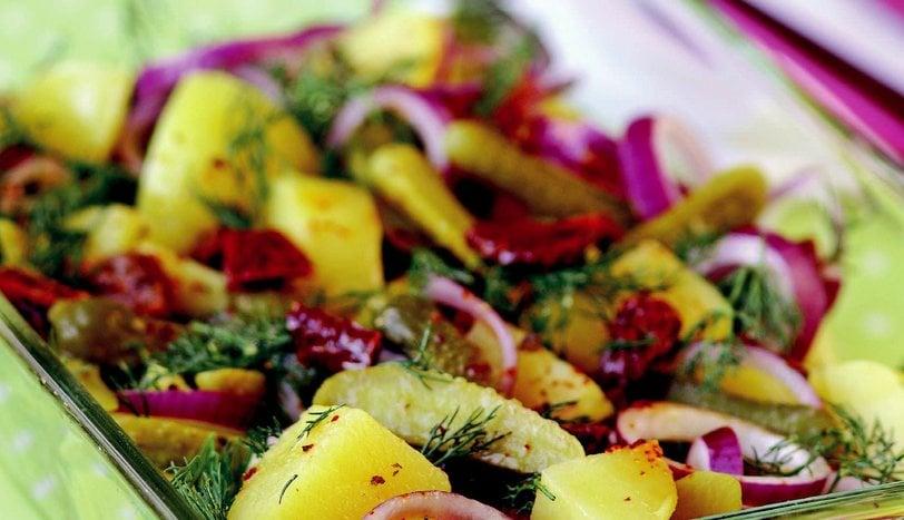 Patatesin En Güzel Hali, Soya Soslu Patates Salatası Tarifi