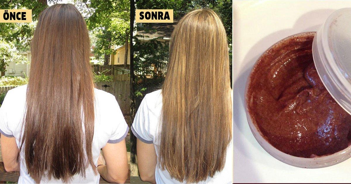 Tarçınla Doğal Yoldan Saç Rengini Açma ve Saç Bakımı