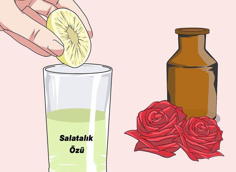 salatalik limon gul suyu
