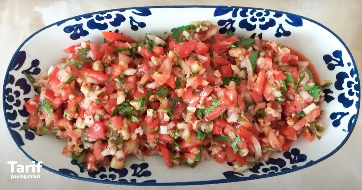 Gavurdağı Salatası Tarifi, Aşırı Lezzetli Gaziantep Usulü