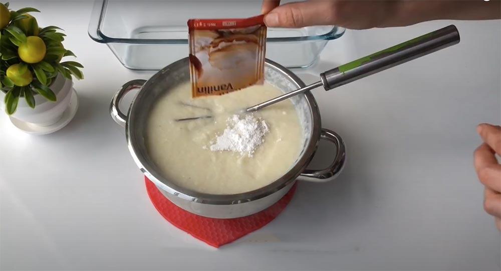 1 paket vanilya