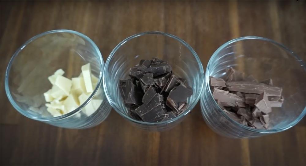çikolataları eritiyoruz
