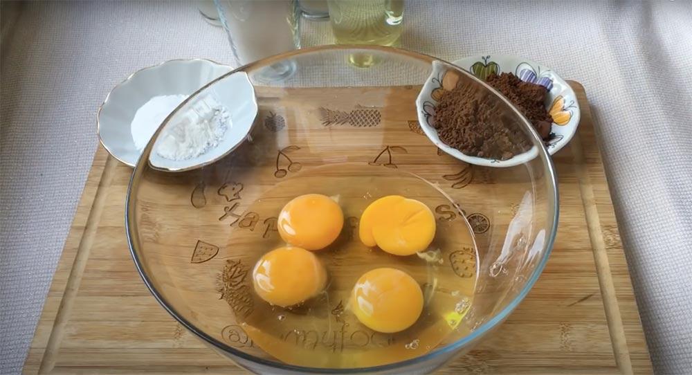 ıslak kek tarifi 4 adet yumurta