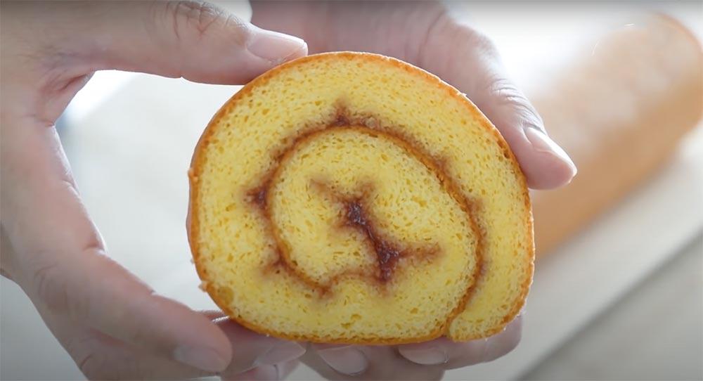 isviçre rulo kek dilimi
