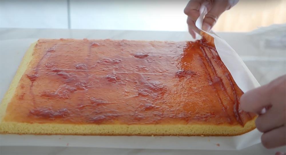isviçre rulo kek nasıl katlanır