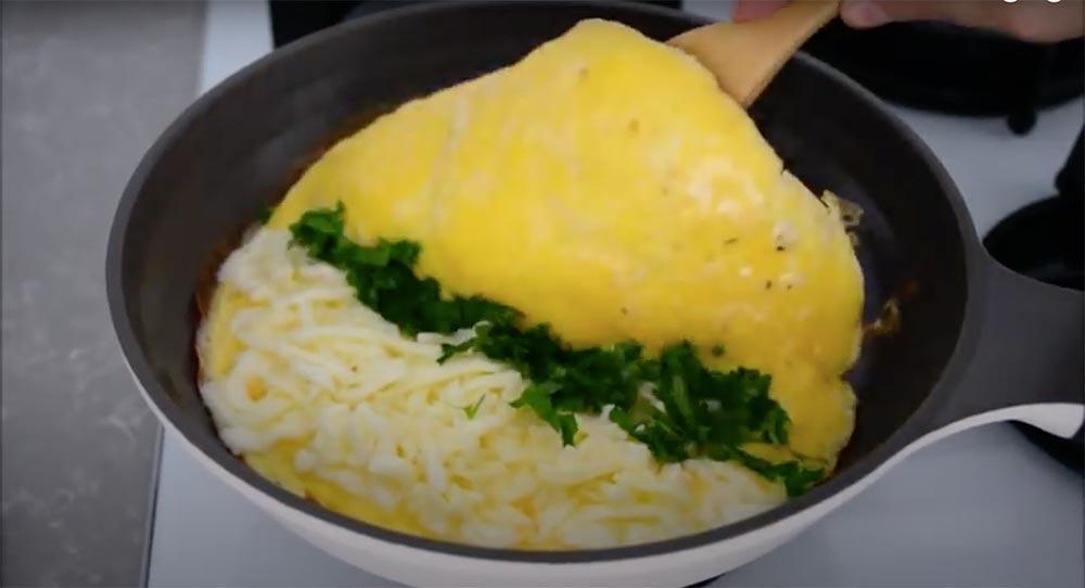 omlet katlama