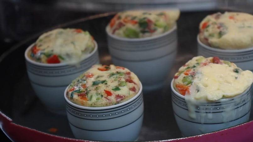 omletler kabarmis