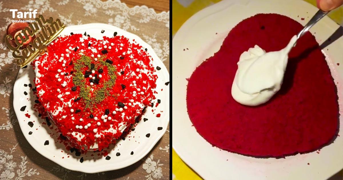Sevgililer Günü İçin Özel Pasta Tarifi