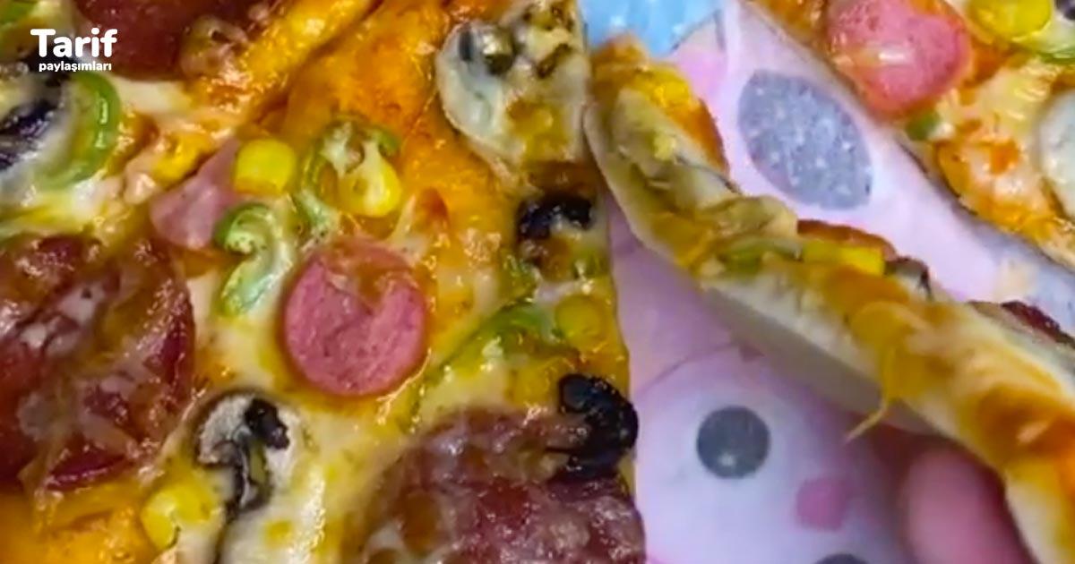 Pizza Tarifi – Tam Ölçülü İncecik Hamuruyla Ağzınıza Layık