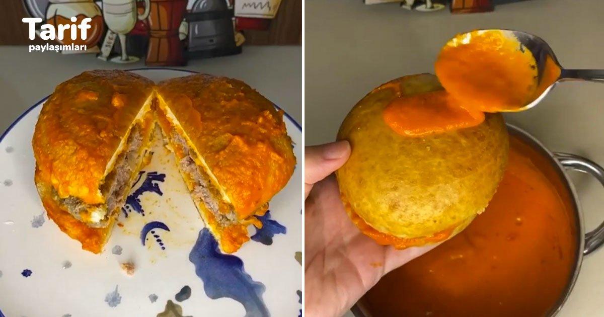 Evde Yumuşacık Islak Hamburger Tarifi