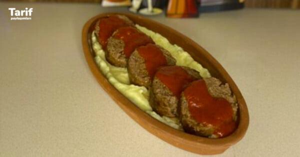 Patates Püresi Yatağında Rosto Köfte Tarifi