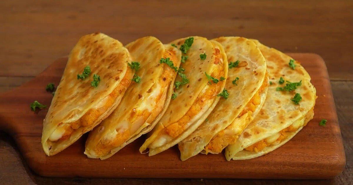 Çıtır Patatesli Quesadilla Tarifi